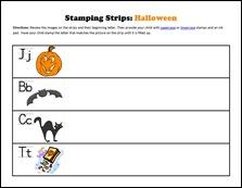 Stamping Strips Halloween