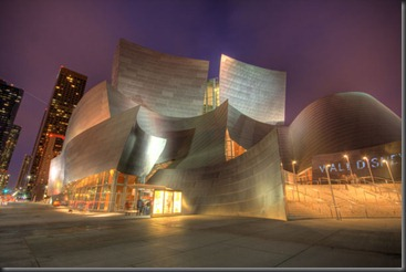 Walt Disney Concert Hall - Los Angeles, CA, USA