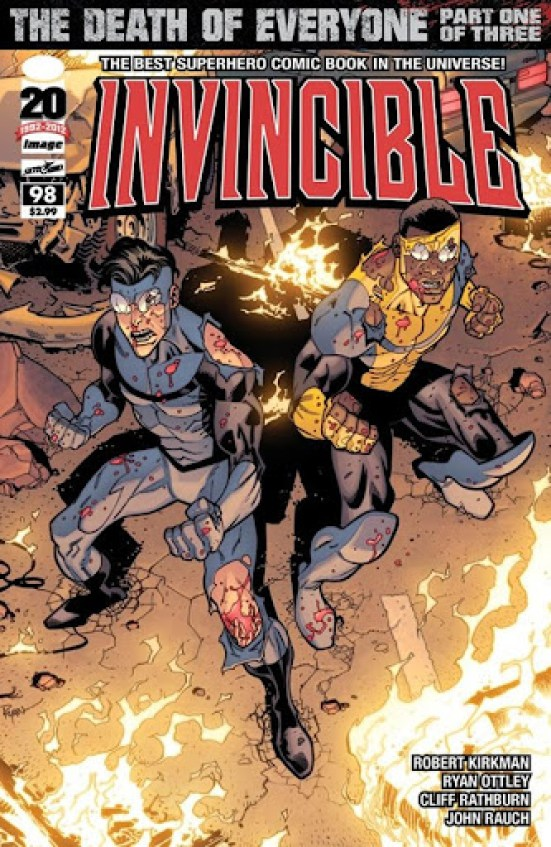 Invincible #98 Cover