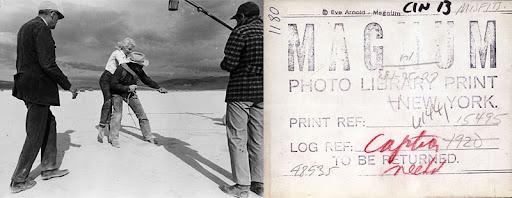 Copia y su reverso de una imagen de Eve Arnold. Magnum Photos