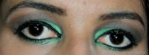Tutorial, Smokey eyes, Green, Tutorial verde, Contém 1G, Cinabar Mary Kay