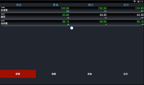 股票報馬仔 - 語音報價,台股,股市,股東會,三大法人 screenshot 10