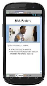 Dyslexia Disease & Symptoms screenshot 4
