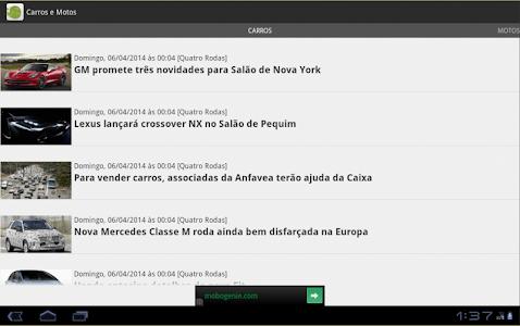 Carros e motos - Notícias screenshot 5