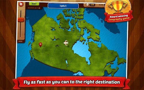 GeoFlight Canada: Geography screenshot 0