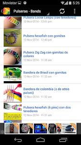 Rubber Band bracelets screenshot 1
