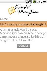 Kandil Mesajlari screenshot 0