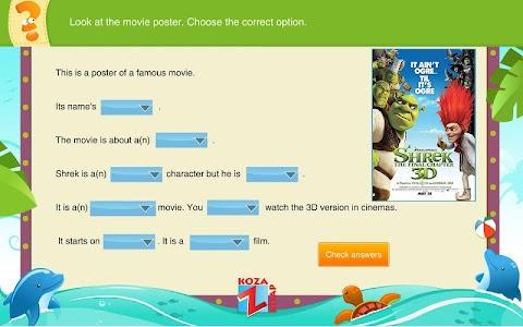 İngilizce 5 KOZA Z-Kitap Demo screenshot 1