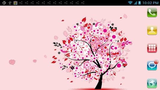 Love Tree Live Wallpaper screenshot 1