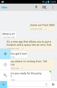 Point SMS screenshot 2
