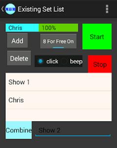 Marching Band Metronome screenshot 1