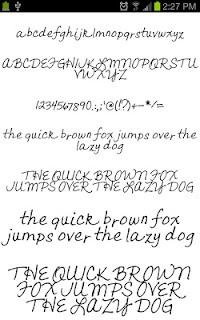 Neat Fonts for FlipFont free screenshot 05