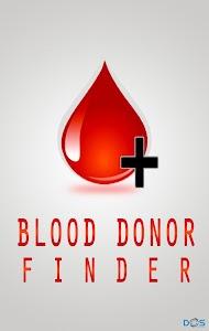 Blood Donor Finder (For BD) screenshot 0
