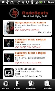 RudeBeats Backstage VIP screenshot 2