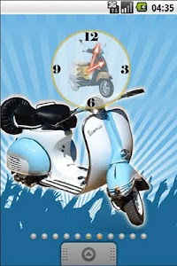 Vespa Classic Full Theme screenshot 2