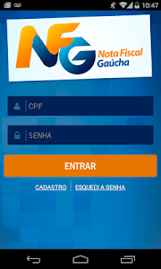 Nota Fiscal Gaúcha - NFG Móvel screenshot 0