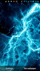 Electric Plasma Live Wallpaper screenshot 4