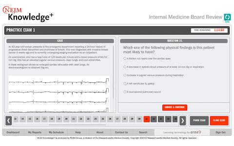 NEJM Knowledge+ IM Review screenshot 10