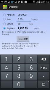 Simple Financial Calculator screenshot 0