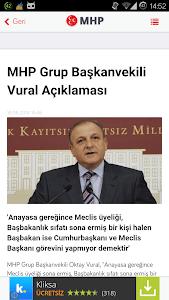MHP Haberleri screenshot 5