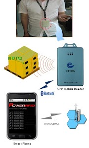 Portable RFID Reader via BT screenshot 0