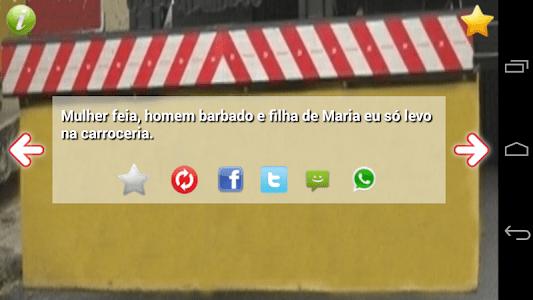 Frases Para-choque de Caminhão screenshot 2