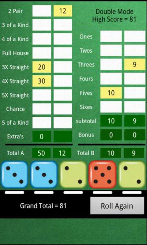 Original Five Dice Game Android Apps On Google Play