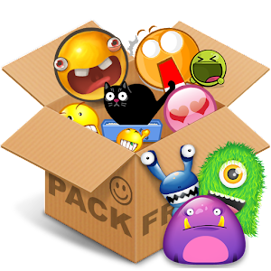 Emoticons pack, Monsters