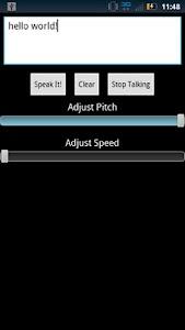 Text To Speech - Text Reader screenshot 0