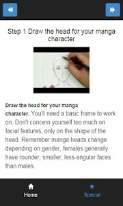 how to draw manga hair screenshot 2