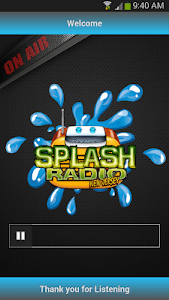 Splash Radio NJ screenshot 1
