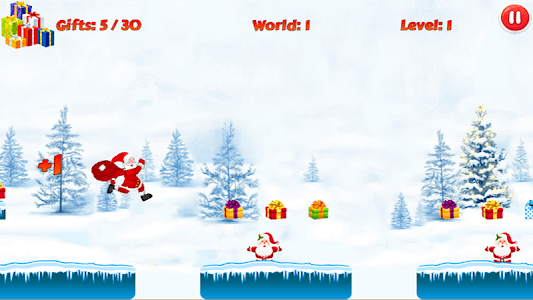 Christmas Santa Run screenshot 1