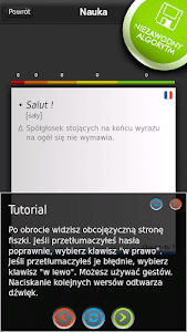 FISZKI Francuski Słownictwo 3 screenshot 2