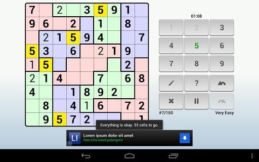 Andoku Sudoku 2 Free screenshot 14