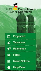 HSG Alumni DE Konferenz screenshot 1
