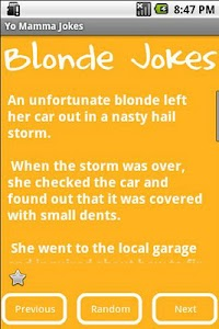 Blonde Jokes screenshot 1