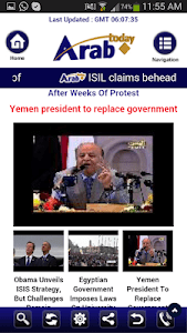 Arab Today mini screenshot 5