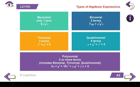Grade 8 Math Learning Cards screenshot 17