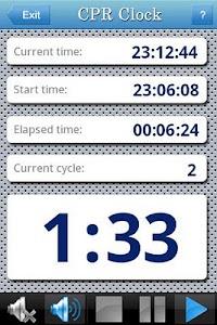 CPR Clock screenshot 1