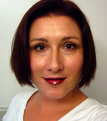 Full fall 2008 makeup look