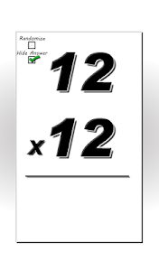 Multiplication Flash Cards screenshot 11