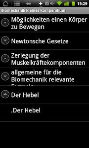 Physiokompendium Biomechanik screenshot 7