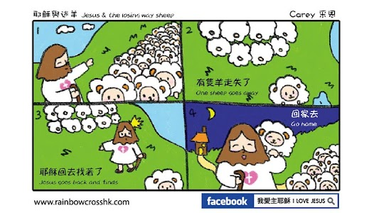 Comic Bible 漫畫聖經 Comic Jesus screenshot 1