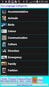 Learn to speak Ga language screenshot 3
