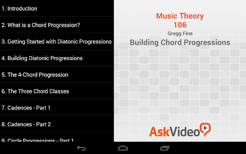 Building Chord Progressions screenshot 2