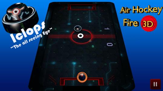 Air Hockey Fire 3D screenshot 4
