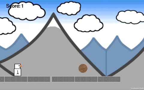 Snowman Runner screenshot 8