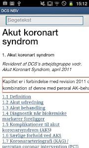 Dansk Cardiologisk Selskab NBV screenshot 1
