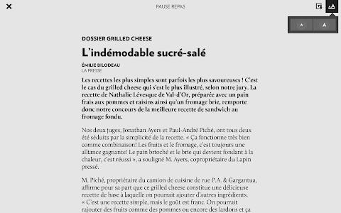 La Presse+ screenshot 6