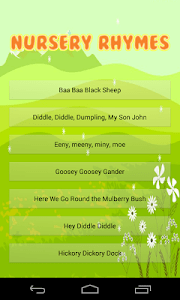 Nursery Rhyme Time Songs screenshot 0